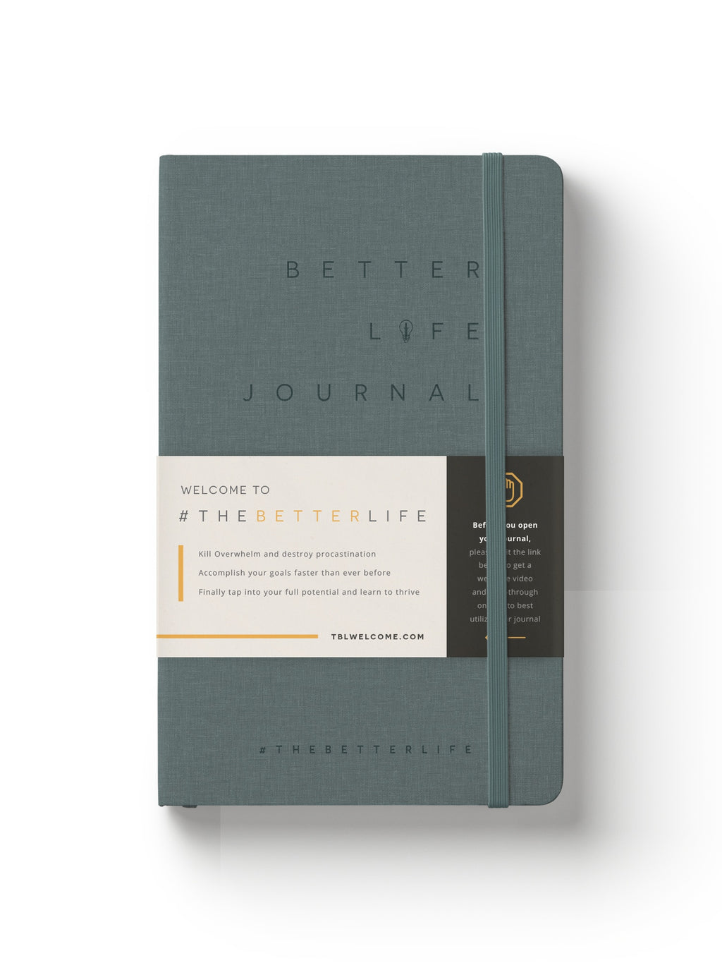 The Better Life Journal (Grey)