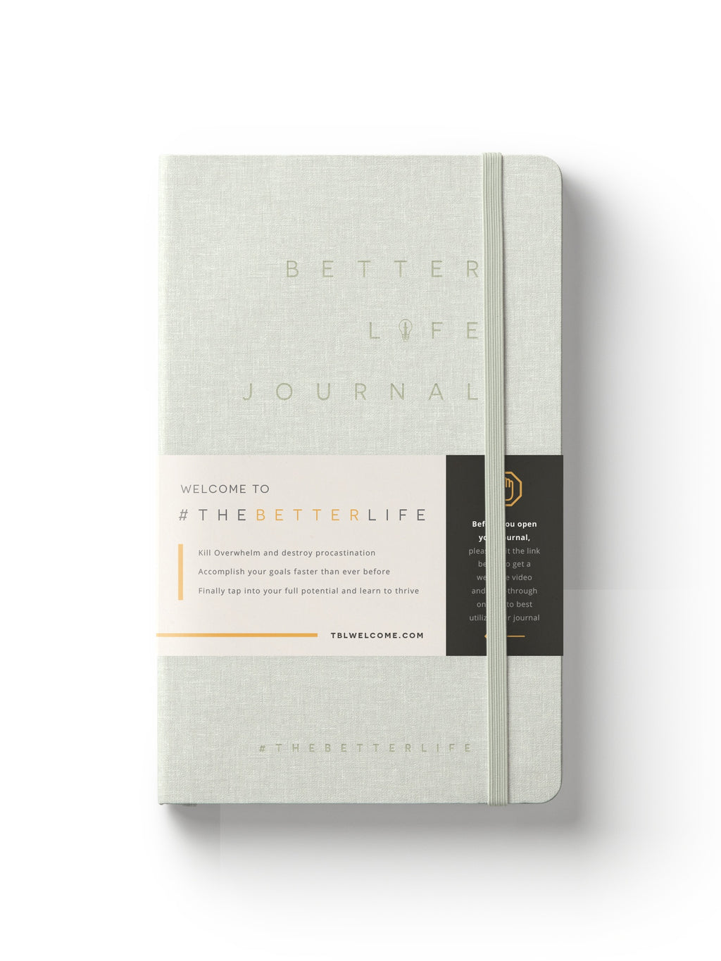 The Better Life Journal (White)