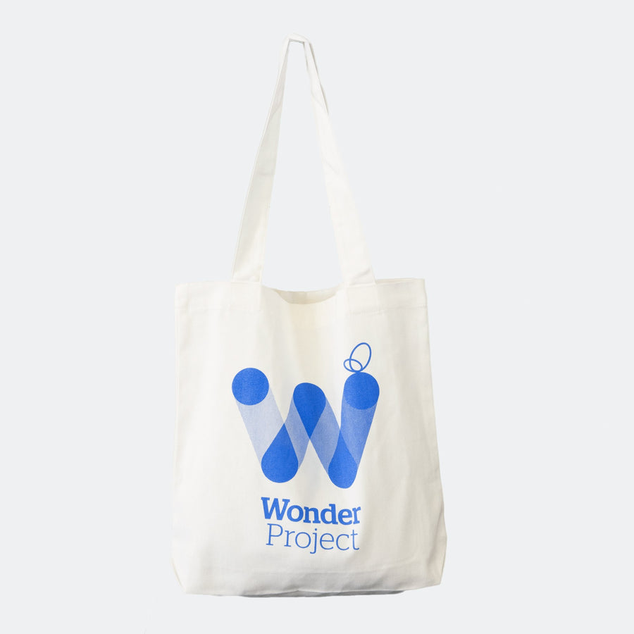 wonder project tote bag