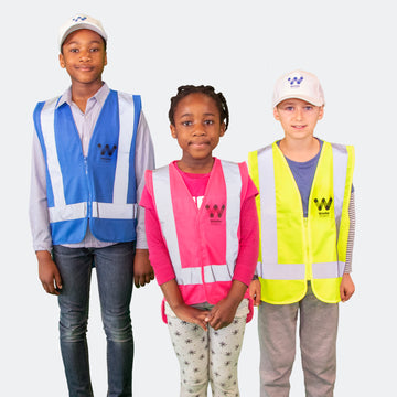 Kid's hi-vis vest set (set of 3)