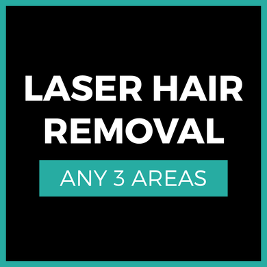 Laser Hair Removal - 3 Area Special