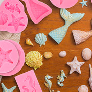 Mermaid Silicone Baking Molds