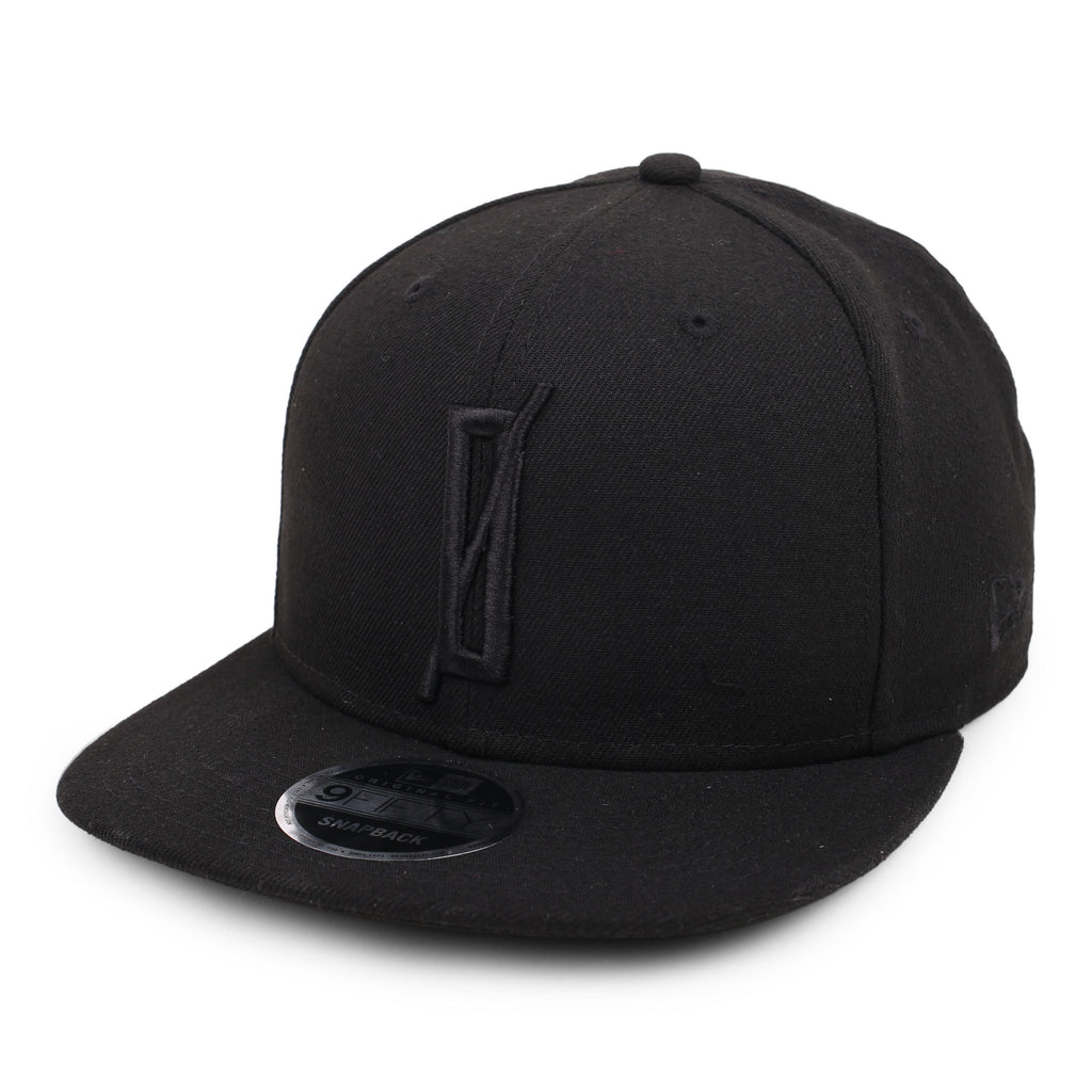 OATH x NEW ERA 9FIFTY SNAPBACK // BLACK + BLACK