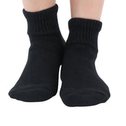 Men's Cotton Diabetic Warm Cushion Ankle Socks