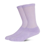 +MD Multi-color Bamboo Crew Diabetic Socks Full Cushion (2 Pairs)
