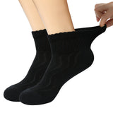 +MD Bamboo Diabetic Ankle Socks Non-Binding (2 Pairs)