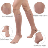 +MD 15-20mmHg Medical Knee High Compression Socks feature