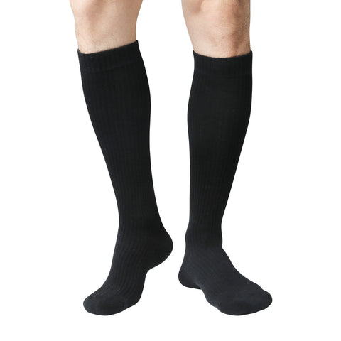+MD 8-15mmHg Knee High Compression Socks Cushion For Shin Splints