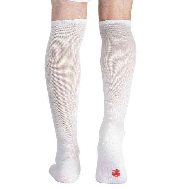 +MD Bamboo Diabetic Over The Knee Socks Extra Wide Carf (2 Pairs)