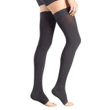 +MD 23-32mmHg Microfiber Compression Thigh High Stockings