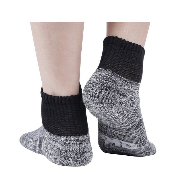 +MD Bamboo Diabetic Ankle Socks Seamless Toe and Cushion Sole (2 Pairs)