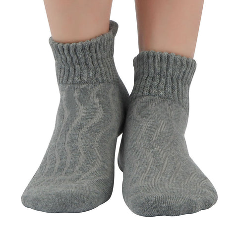 +MD Cotton Diabetic Non-Binding Ankle Socks Cushion (2 Pairs)