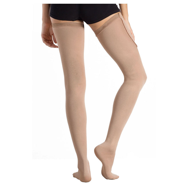+MD 15-20mmHg Anti-Embolism Thigh High Compression Stockings