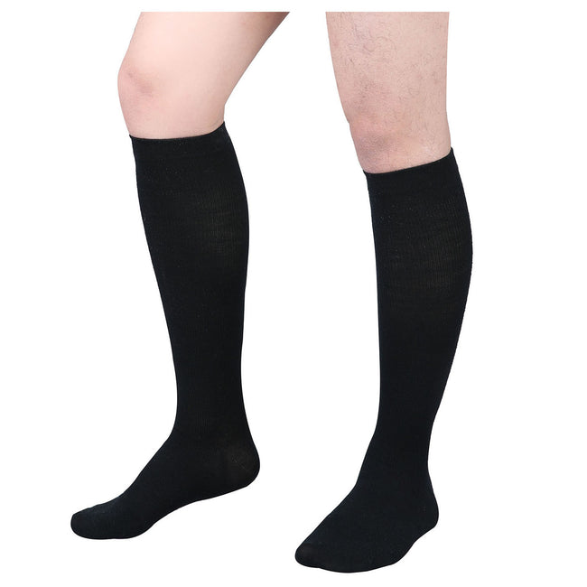 +MD 15-20mmHg Wool Compression Knee High Socks For Men and Women