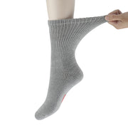 +MD Cotton Diabetic Warm Cushion Crew Socks