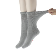 +MD Cotton Diabetic Warm Cushion Crew Socks (2 Pairs)