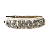 Gangsta Wide Genuine Leather Bracelet (available in 2 colors)