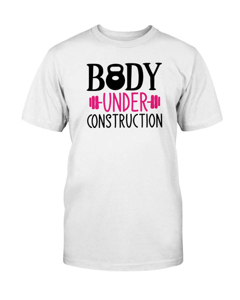 Body Under Construction Graphic T-Shirt (more colors)