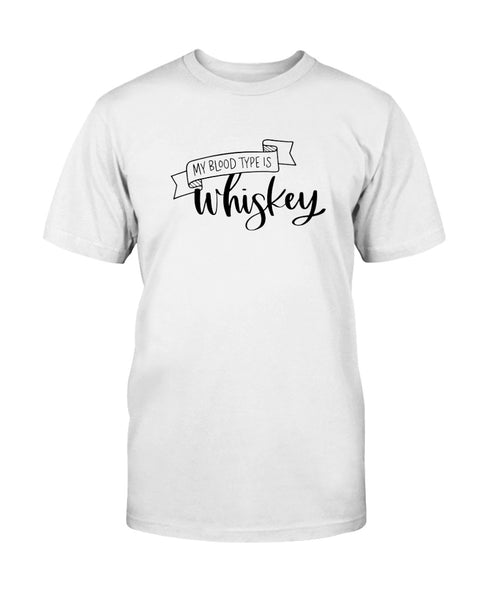 My Blood Type Is Whiskey Graphic T-Shirt (more colors)