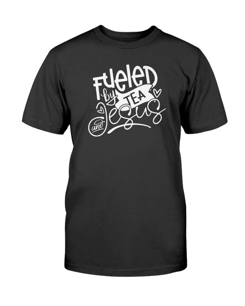 Fueled By Tea and Jesus Graphic T-Shirt (more colors)
