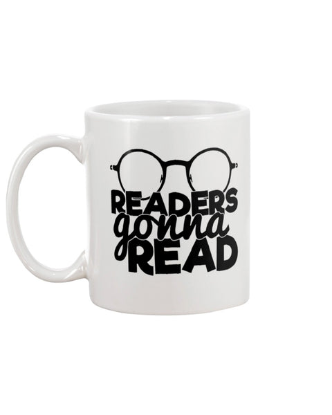 Readers Gonna Read White Beverage Mug