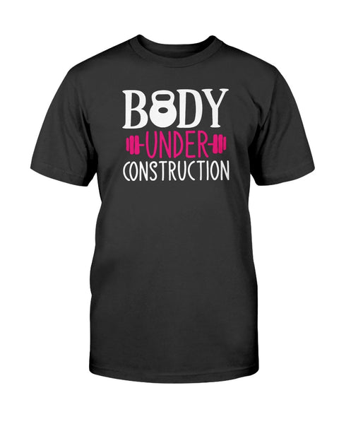 Body Under Construction Hurts Graphic T-Shirt (more colors)