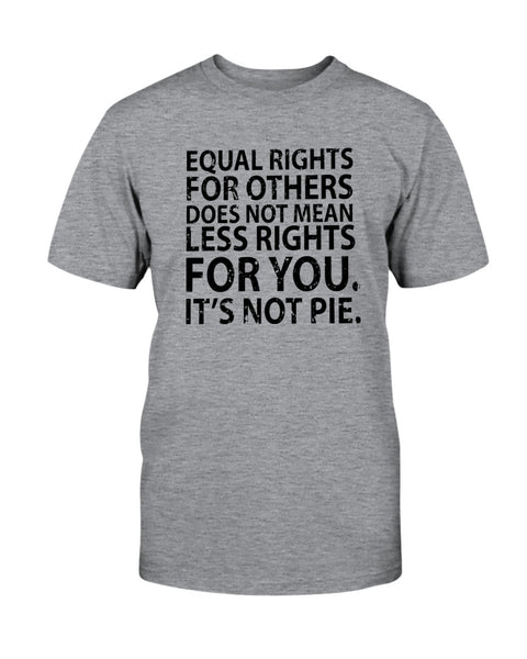 Equal Rights For Others Does Not Mean Less Rights For You. It's Not Pie. Graphic T-Shirt (more colors)