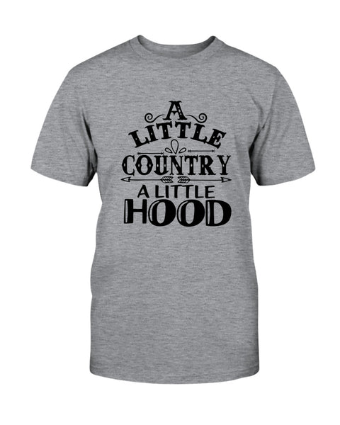 A Little Country A Little Hood Graphic T-Shirt (more colors)