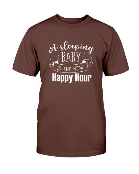 A sleeping baby happy hour Graphic T-Shirt (more colors)