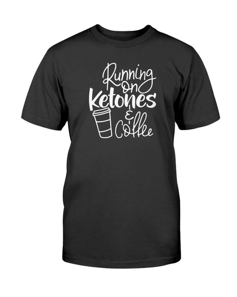 Running On Ketones & Coffee Graphic T-Shirt (more colors)