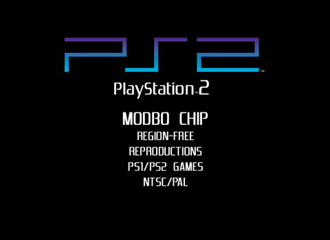Modded Region-Free PS2 Slim (Modbo 4.0)