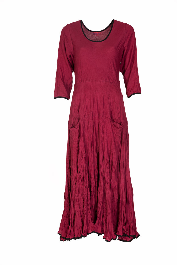 Dewani Dress  in Plain Colour Brushed Cotton Size 10 to 14!