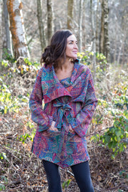Bela Wrap Jacket in Merino Wool £185 - Now £79!