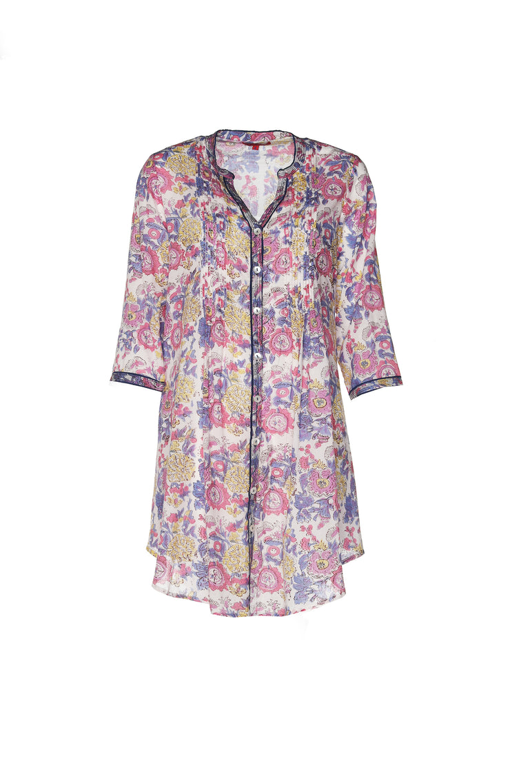 Shimla Tunic Hand Block Printed in Pure Cotton £79 - Now £39