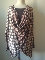 Anja Top Hand Block Printed Jersey With Matching Plain Vest £125 - Now £29!