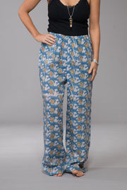 Classic Pants Hand Block Printed Pure Cotton