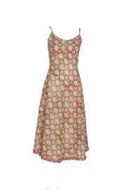 New Kapil Bias Dress Hand Block Printed Pure Cotton