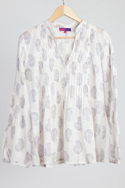Sula Shirt Hand Block Printed in Pure Cotton