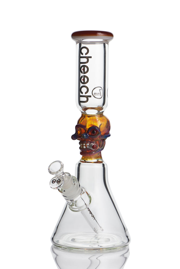 CHEECH SMOKING SKULL TUBE