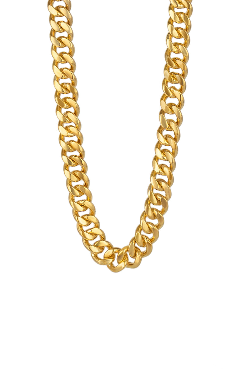 Gold Vermeil I'm Worth It Necklace