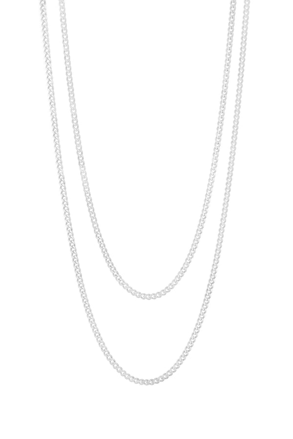 Silver Bianca Layered Necklace