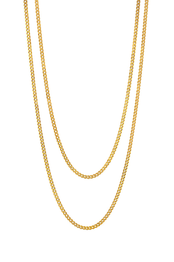 Gold Plated Bianca Layered Necklace