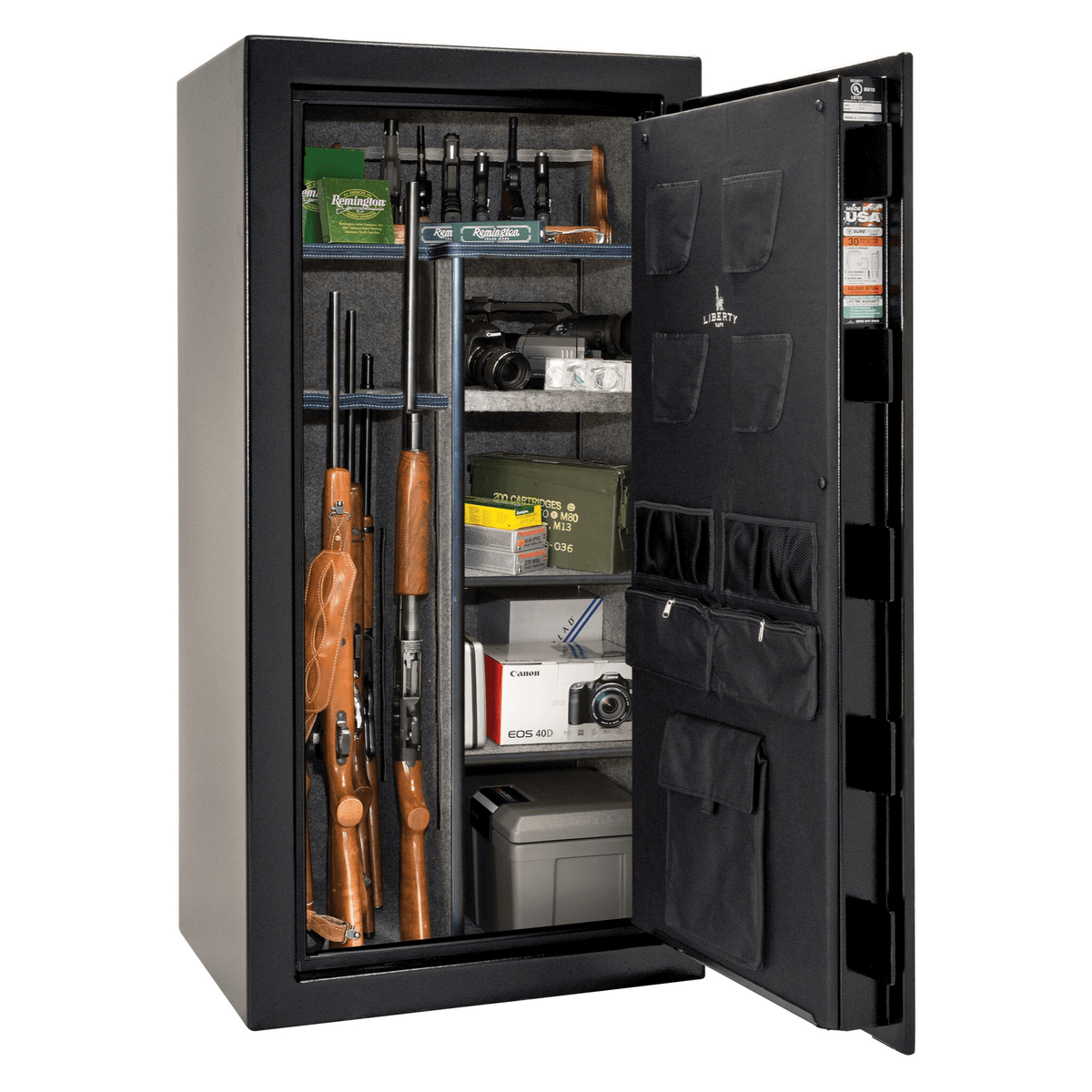 "USA Series | Level 2 Security | 60 Minute Fire Rating | 36 | Dimensions: 60.5""(H) x 36""(W) x 25""(D) 