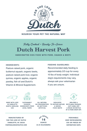 Dutch Harvest Pork