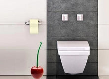 Load image into Gallery viewer, Creative Lovely Cherry Shape Toilet Brush & Holder Set