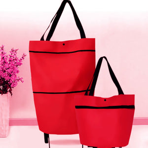 Shopping Bag with Wheels