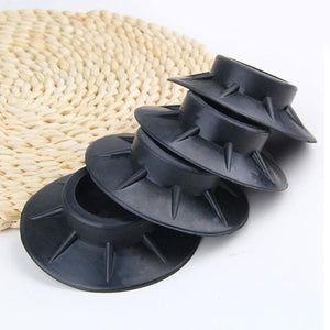4Pcs Floor Mat Elasticity for washing machine and anything unstable