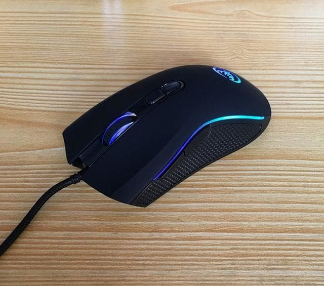 High-end professional gaming mouse with 7 bright colors LED