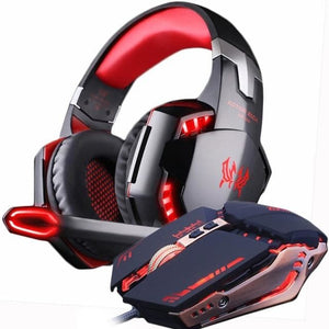 Gaming Headset and Gaming Mouse with 4000 DPI
