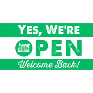 Welcome Back Banner (3' x 6')